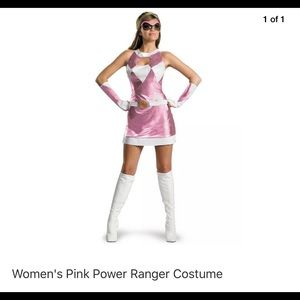 Pink Power Rangers Costume L